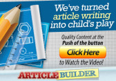 Article Builder Review - article generator software
