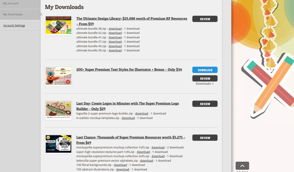 my inky deals downloads