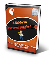 My Guide to Internet Marketing and Ideas to get started now!