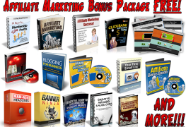 Affiliate Marketing Bonus Package