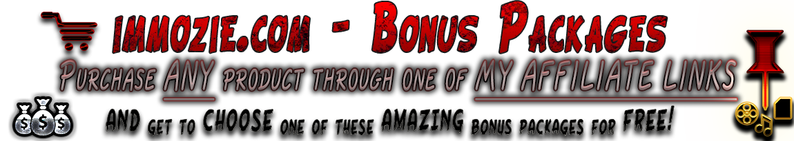 You can get one of these amazing Bonus Packages