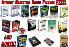 Internet Marketing Bonus Package