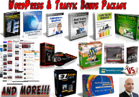 WordPress & Traffic Bonus Package – See Its Amazing Value!