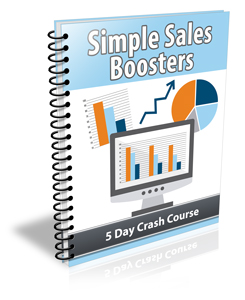 Simple Sales Boosters crash course