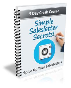 Salesletter Secrets Crash Course Package