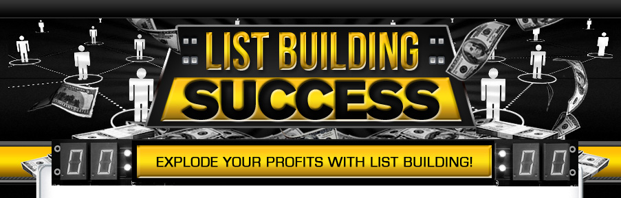 how to build a list and profit from it