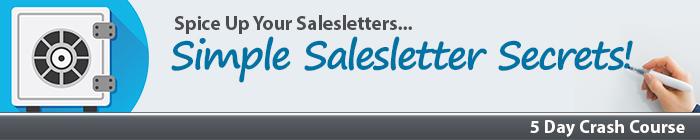 Simple Salesletter Secrets Crash Course