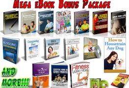 Mega eBook Bonus Package