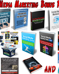 Social Media Marketing Bonus Package