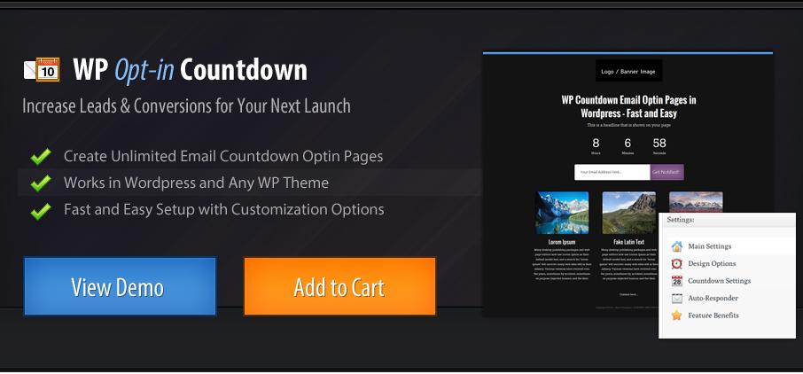 WP Optin Countdown