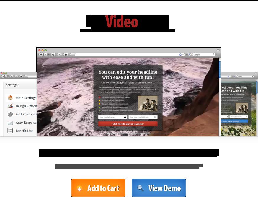 WP Video Optin Plugin