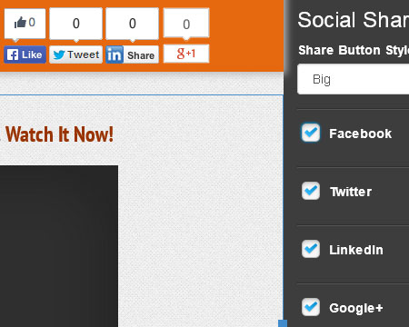 Social Tab Screenshot