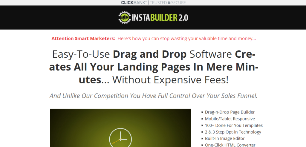 InstaBuilder WordPress Marketing Plugin