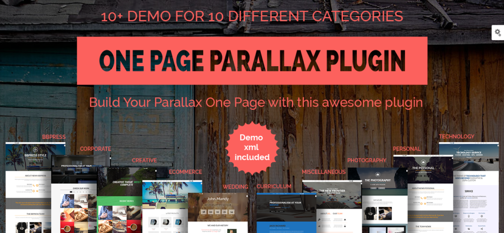 One-Page-Parallax-WP-Plugin