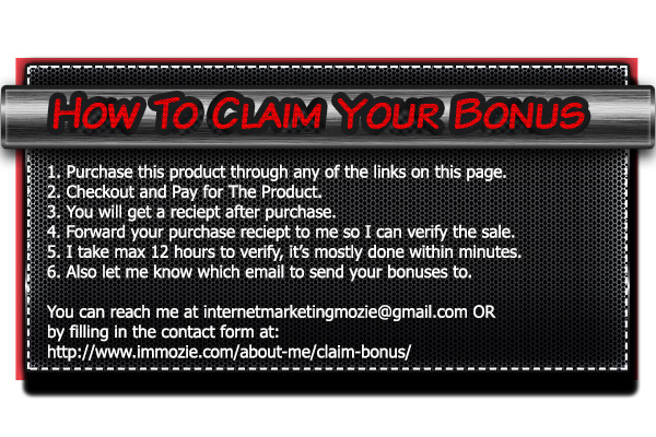 How to claim your bonus deal