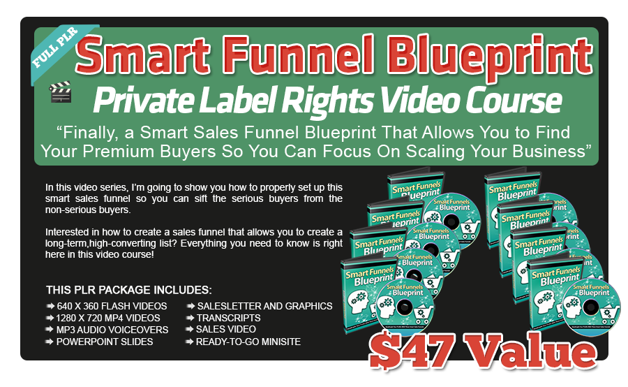 Smart Funnel Blueprint PLR Videos