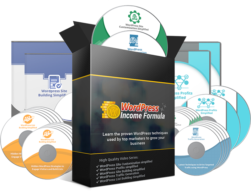 WordPress Income Formula PLR Videos - WordPress PLR