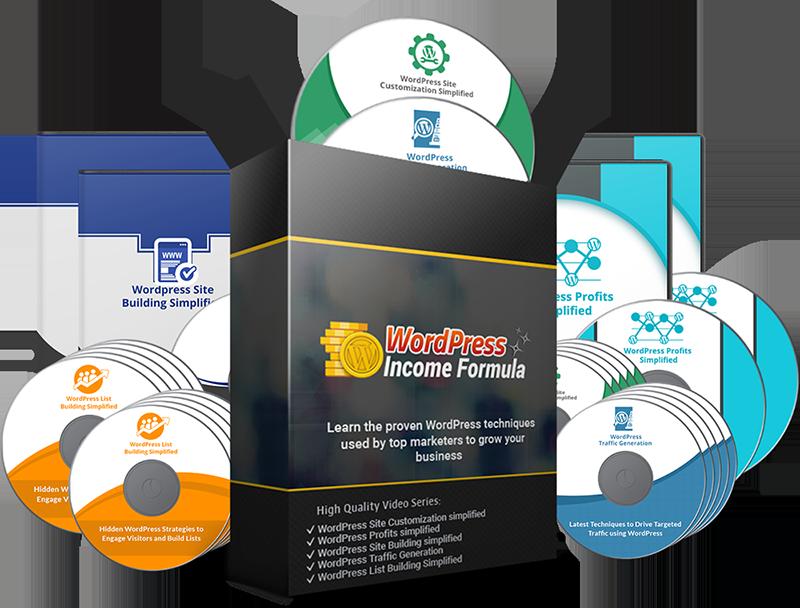 WordPress Income Formula PLR Videos - WordPress PLR