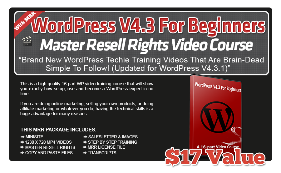 WordPress-V4.3-Beginners-Video-Course