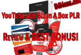 ouTube Ads Business In A Box PLR review