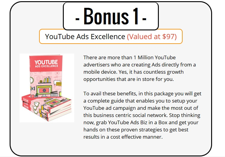 Best YouTube Ads PLR Bonus
