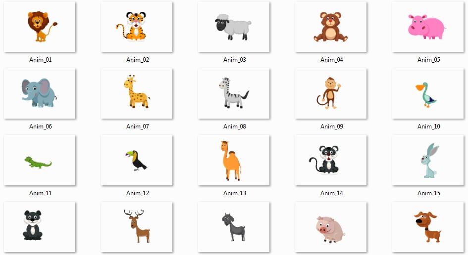 Pixel Studio FX 2.0 Bonus 10 - Vector Graphics - Animals