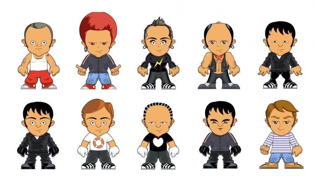 Pixel Studio FX 2.0 Bonus 12 - Mascot Characters
