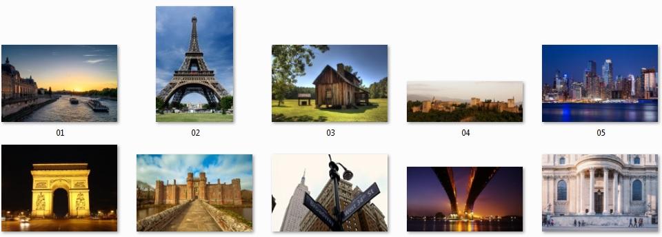 Pixel Studio FX 2.0 Bonus 12 - Royalty-Free Building Photos