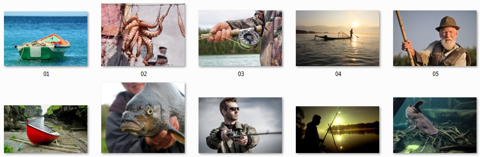 Pixel Studio FX 2.0 Bonus 12 - Royalty-Free Fishing Photos