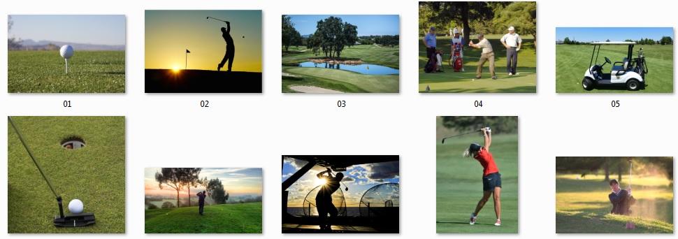Pixel Studio FX 2.0 Bonus 12 - Royalty-Free Golf Photos