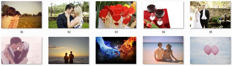 Pixel Studio FX 2.0 Bonus 12 - Royalty-Free Love Photos