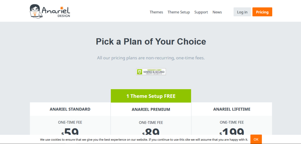 Anariel Design All Themes Lifetime Plan