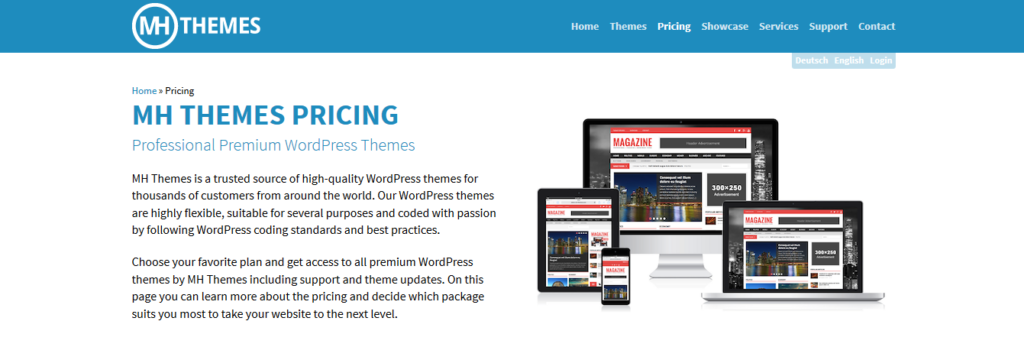 MH Themes Lifetime Access to all WordPress themes