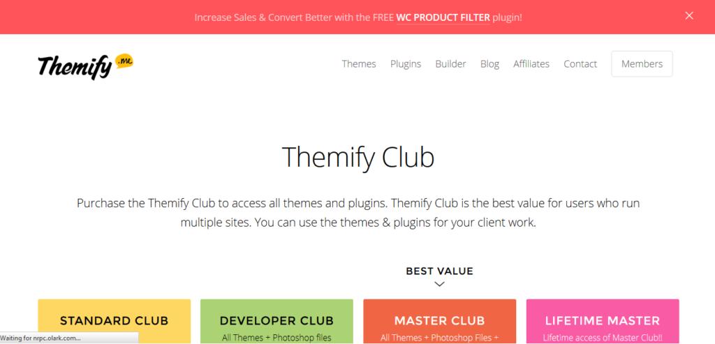 Themify Lifetime Master Club
