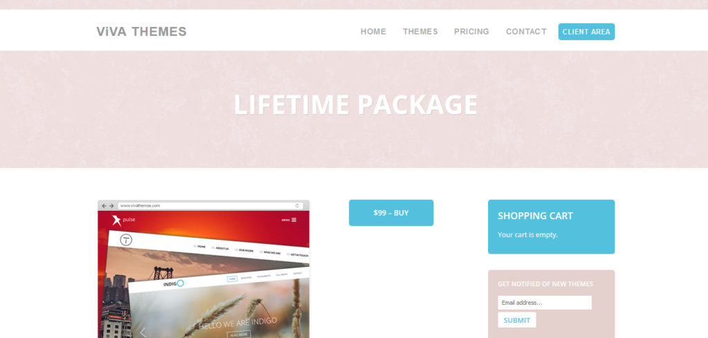 Viva Themes Lifetime Package