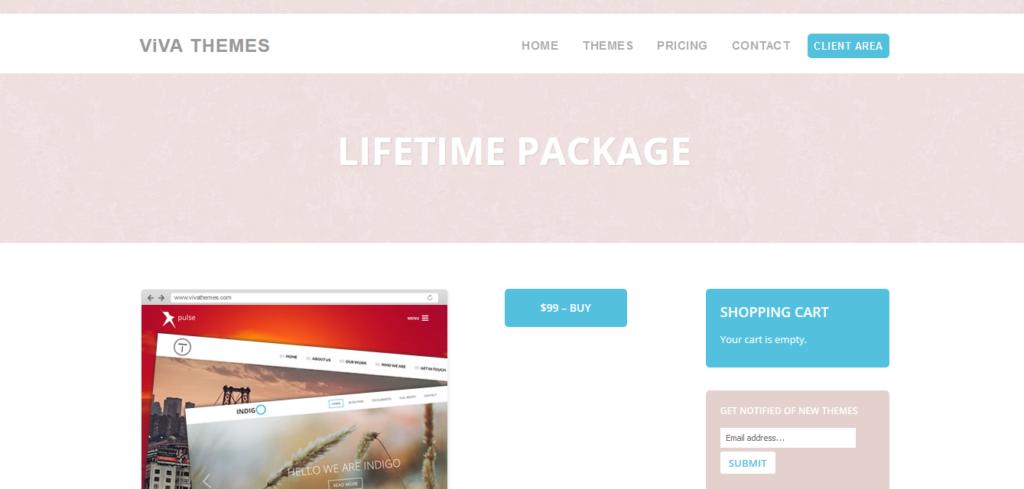 Viva Themes Lifetime Package