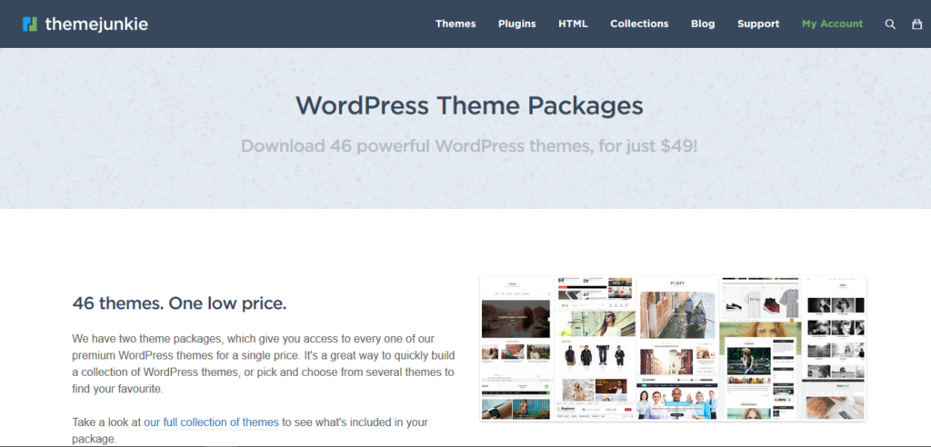 Theme Junkie WordPress Theme Package 46 Premium themes