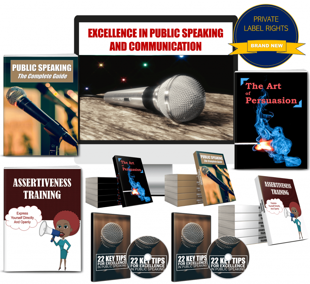 Public Speaking PLR Pack