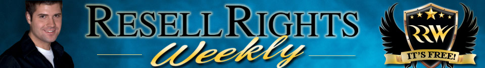 Resell Rights Weekly - Free PLR Products