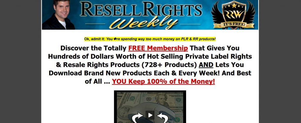 RRW - Best Free PLR Membership Site