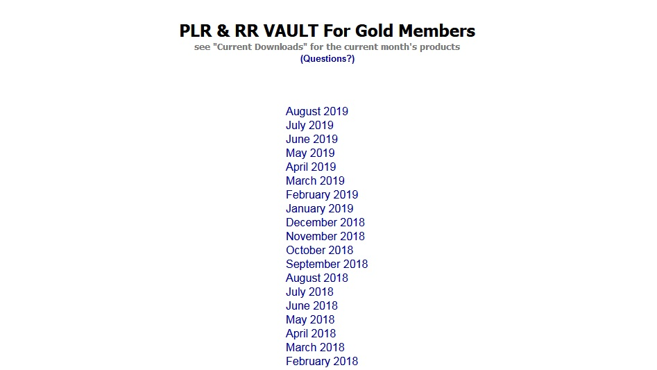 Best free PLR Membership