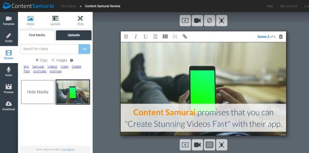 content samurai best article to video app