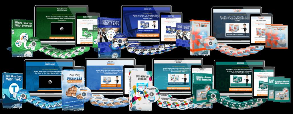 Business Productivity Huge PLR Video Bundle