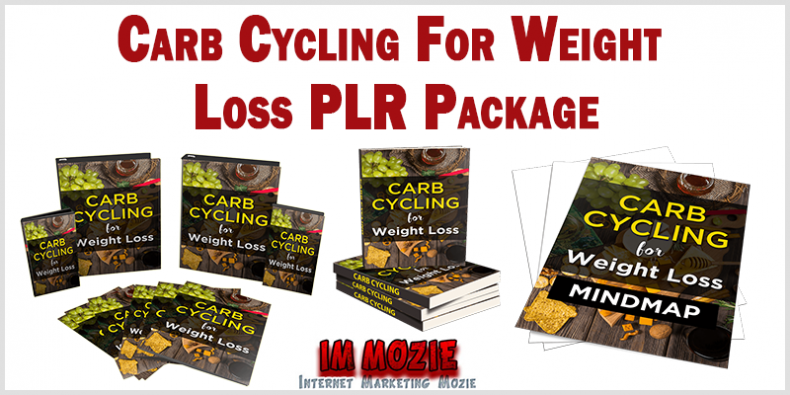 Carb Cycling For Weight Loss PLR Package