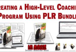 Creating a High Level Coaching Program Using PLR Bundle