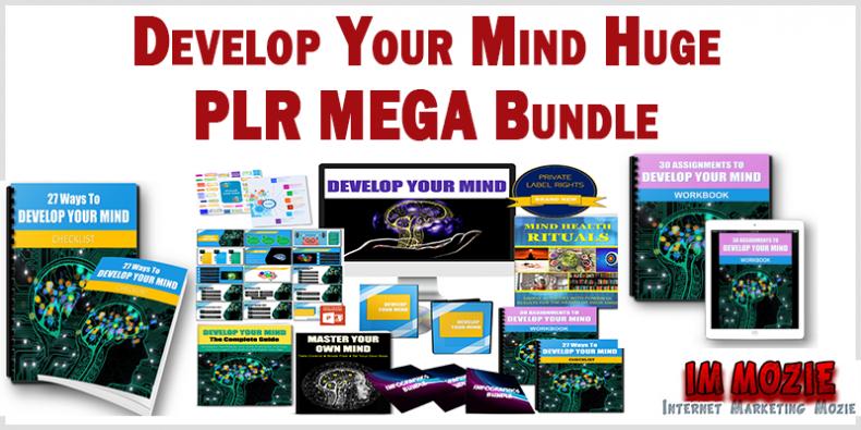 Develop Your Mind Huge PLR MEGA Bundle