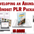 Developing an Abundant Mindset PLR Package