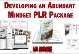 Developing an Abundant Mindset PLR Package