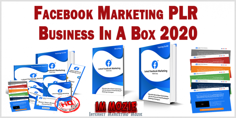 Facebook Marketing PLR Business In A Box 2020