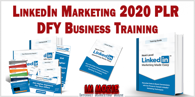 LinkedIn Marketing 2020 PLR DFY Business Training